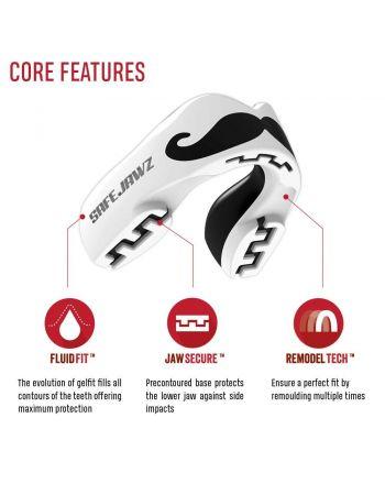 SAFEJAWZ® Extro Series Safe Jawz - 28 buty zapaśnicze ubrania kostiumy