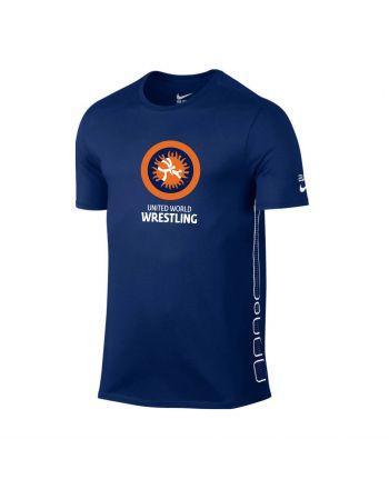T-shirt NIKE Elite UWW Nike - 2 buty zapaśnicze ubrania kostiumy
