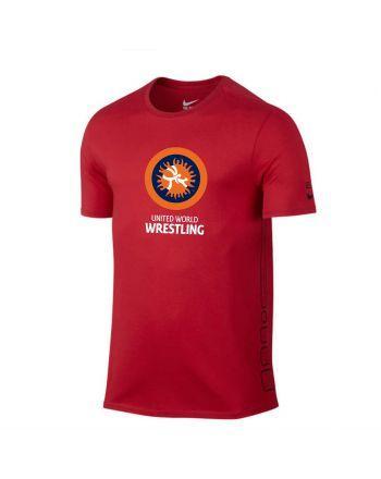 T-shirt NIKE Elite UWW Nike - 3 buty zapaśnicze ubrania kostiumy