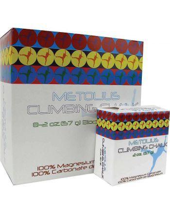 Magnezja Metolius Chalk Block - karton (8 szt.)  - 1 buty zapaśnicze ubrania kostiumy