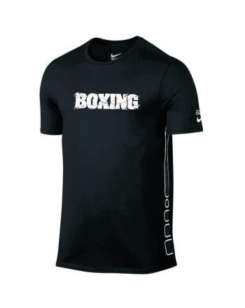 Męska koszulka Nike Elite Boxing Tee Nike - 2 buty zapaśnicze ubrania kostiumy