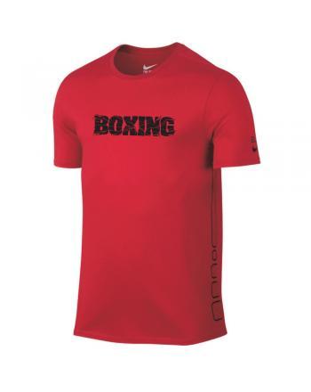 Męska koszulka Nike Elite Boxing Tee Nike - 3 buty zapaśnicze ubrania kostiumy