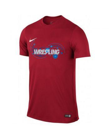 Koszulka dziecięca Nike Park VI WRESTLING Nike - 19 buty zapaśnicze ubrania kostiumy