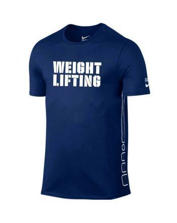 Koszulka męska Nike Elite Weightlifting Nike - 2 buty zapaśnicze ubrania kostiumy