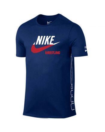 Koszulka męska Nike Elite WRESTLING POL Nike - 2 buty zapaśnicze ubrania kostiumy