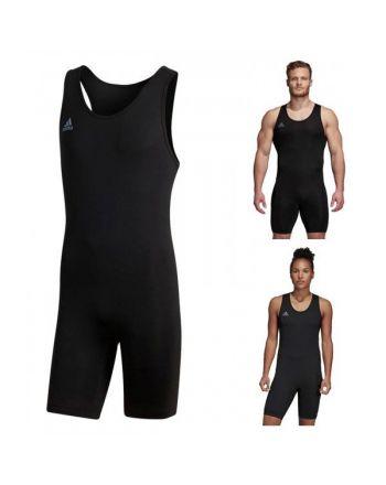 Adidas PowerLift Suit (Unisex)- Weightlifting Suit Adidas - 9 buty zapaśnicze ubrania kostiumy