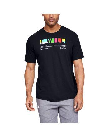 """Koszulka męska UA """"I Will"""" Multi-coloured Under Armour - 3 buty zapaśnicze ubrania kostiumy"""