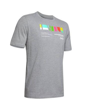 """Koszulka męska UA """"I Will"""" Multi-coloured Under Armour - 7 buty zapaśnicze ubrania kostiumy"""