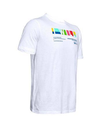 """Koszulka męska UA """"I Will"""" Multi-coloured Under Armour - 13 buty zapaśnicze ubrania kostiumy"""