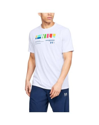 """Koszulka męska UA """"I Will"""" Multi-coloured Under Armour - 15 buty zapaśnicze ubrania kostiumy"""