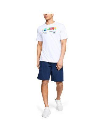 """Koszulka męska UA """"I Will"""" Multi-coloured Under Armour - 18 buty zapaśnicze ubrania kostiumy"""