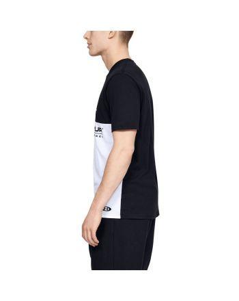 Koszulka męska UA Color Block Under Armour - 10 buty zapaśnicze ubrania kostiumy