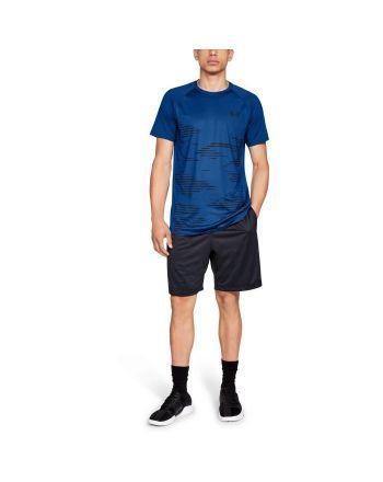 Koszulka męska UA MK1 Camo SS Under Armour - 4 buty zapaśnicze ubrania kostiumy