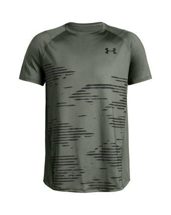 Koszulka męska UA MK1 Camo SS Under Armour - 11 buty zapaśnicze ubrania kostiumy