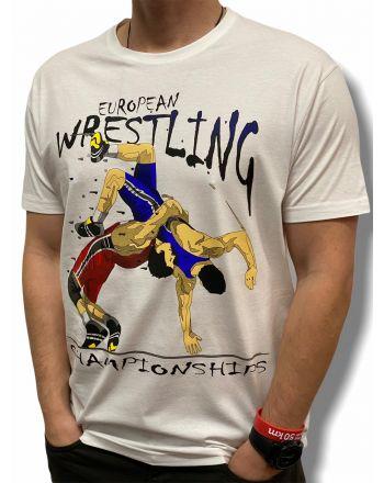 T-shirt Europa Jarex-Wrestling - 1 buty zapaśnicze ubrania kostiumy