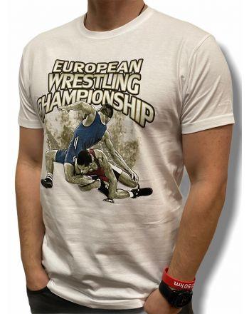 T-shirt Europa V2 Jarex-Wrestling - 1 buty zapaśnicze ubrania kostiumy