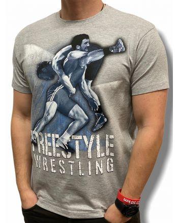 copy of T-shirt  Free Style Jarex-Wrestling - 1 buty zapaśnicze ubrania kostiumy