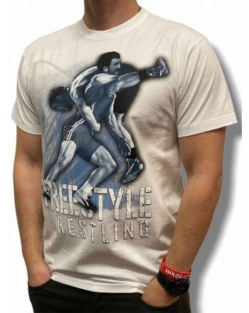 T-shirt  Free Style Jarex-Wrestling - 1 buty zapaśnicze ubrania kostiumy