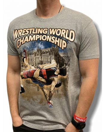 T-shirt Championship Jarex-Wrestling - 1 buty zapaśnicze ubrania kostiumy