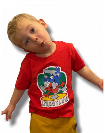 T-shirt Smerf Jarex-Wrestling - 1 buty zapaśnicze ubrania kostiumy
