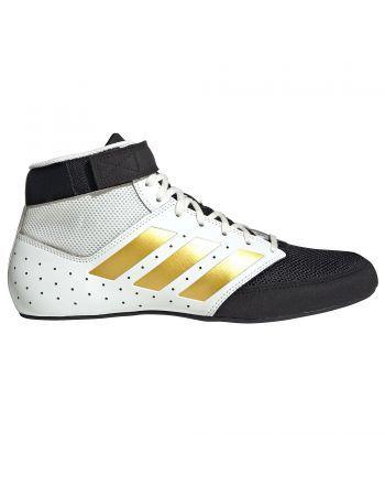 Buty zapaśnicze Adidas Mat Hog 2 FU8167 Adidas - 1 buty zapaśnicze ubrania kostiumy