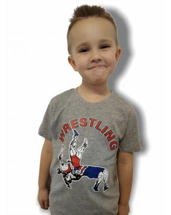 T-shirt WRESTLING Kids Jarex-Wrestling - 1 buty zapaśnicze ubrania kostiumy