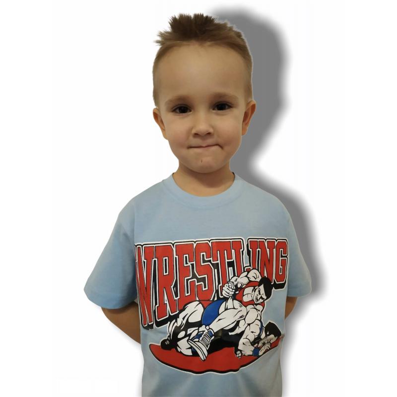 T-shirt FIGHT Kids Jarex-Wrestling - 1 buty zapaśnicze ubrania kostiumy
