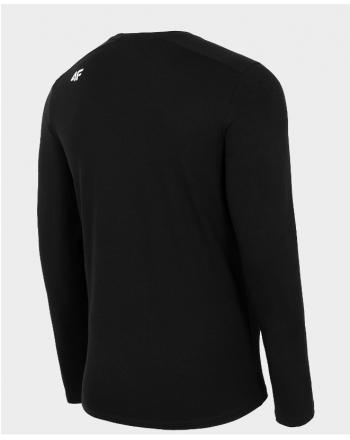Koszulka męska z długim rękawem NOSH4-TSML001  - 2 buty zapaśnicze ubrania kostiumy