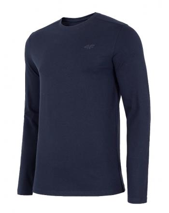 Koszulka męska z długim rękawem NOSH4-TSML001 4F - 1 buty zapaśnicze ubrania kostiumy