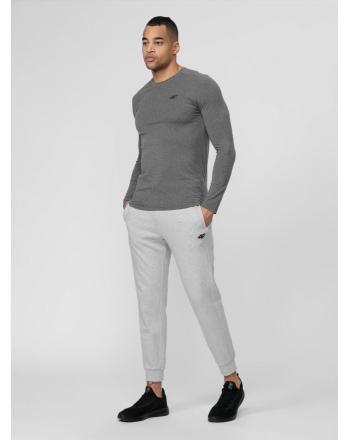 Koszulka męska z długim rękawem NOSH4-TSML001 4F - 4 buty zapaśnicze ubrania kostiumy