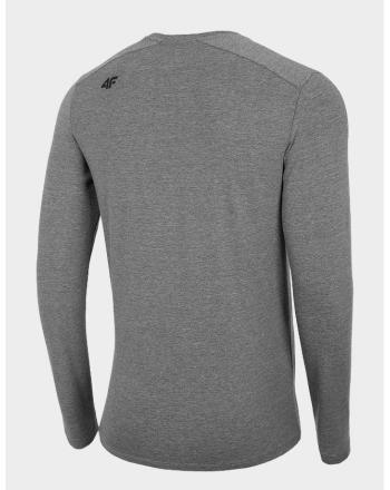 Koszulka męska z długim rękawem NOSH4-TSML001 4F - 2 buty zapaśnicze ubrania kostiumy