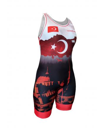 Kostium zapaśniczy -Berkner WOMEN Turkey Berkner - 1 buty zapaśnicze ubrania kostiumy