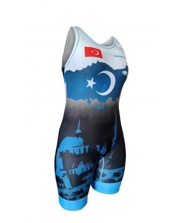 Wrestling singlets -Berkner WOMEN Turkey Berkner - 2 buty zapaśnicze ubrania kostiumy