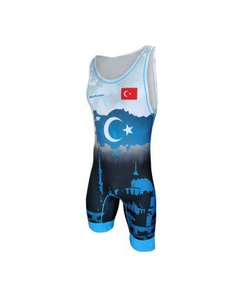 Kostium zapaśniczy -Berkner Turkey Berkner - 1 buty zapaśnicze ubrania kostiumy