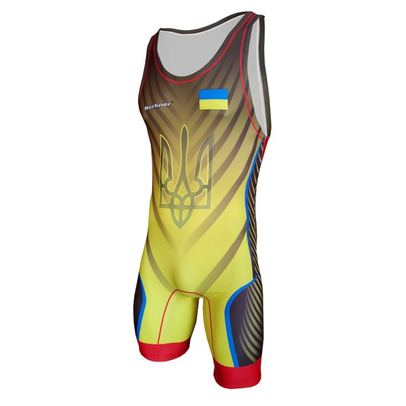 Berkner UKRAINE - wersja B Berkner - 1 buty zapaśnicze ubrania kostiumy