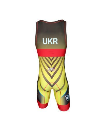 Berkner UKRAINE - wersja B Berkner - 2 buty zapaśnicze ubrania kostiumy
