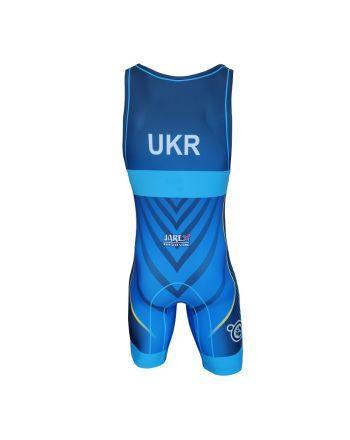 Berkner UKRAINE - wersja B  - 1 buty zapaśnicze ubrania kostiumy
