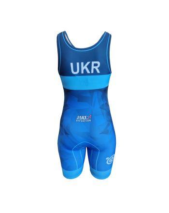 Kostium zapaśniczy -Berkner WOMEN UKRAINE  - 1 buty zapaśnicze ubrania kostiumy