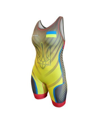Kostium zapaśniczy -Berkner WOMEN UKRAINE Berkner - 1 buty zapaśnicze ubrania kostiumy