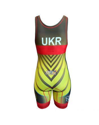 Kostium zapaśniczy -Berkner WOMEN UKRAINE Berkner - 2 buty zapaśnicze ubrania kostiumy