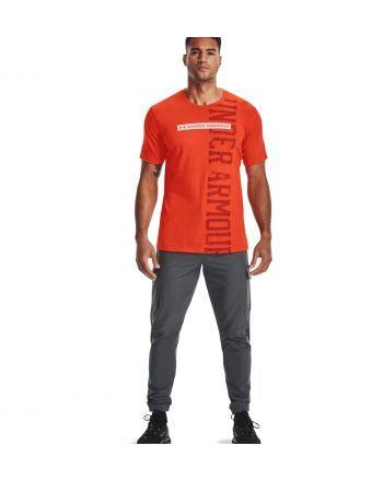 T-shirt Under Armour VERTICAL SIGNATURE SS Under Armour - 1 buty zapaśnicze ubrania kostiumy