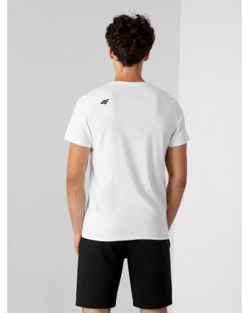 Koszulka męska sportowa 4F  - 5 buty zapaśnicze ubrania kostiumy