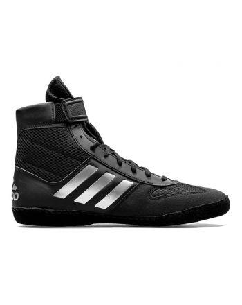 Buty zapaśnicze Adidas Combat Speed 5 BA8007 - Czarne/Srebrne